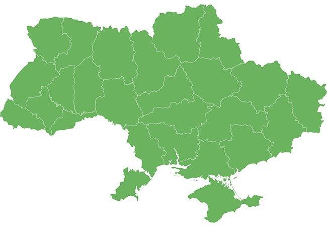 представленність компанії Alu-System в регіонах України фото