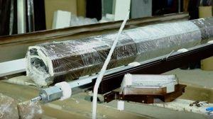 как собрать короб из профиля 77 мм с автоматическим управлением