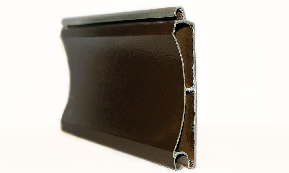 Экструдированный профиль для роллетных ворот от компании Alu-System фото