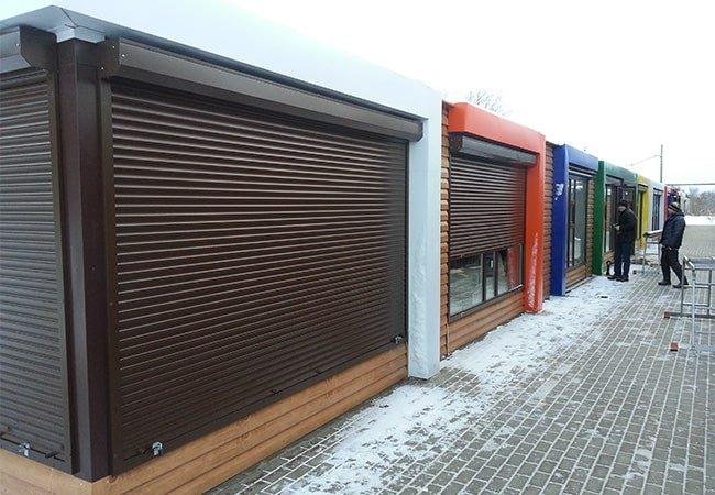 Промышленные роллеты для гаража в городе Львов фото