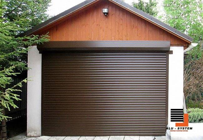 роллеты для гаража в городе Сумы с автоматикой фото