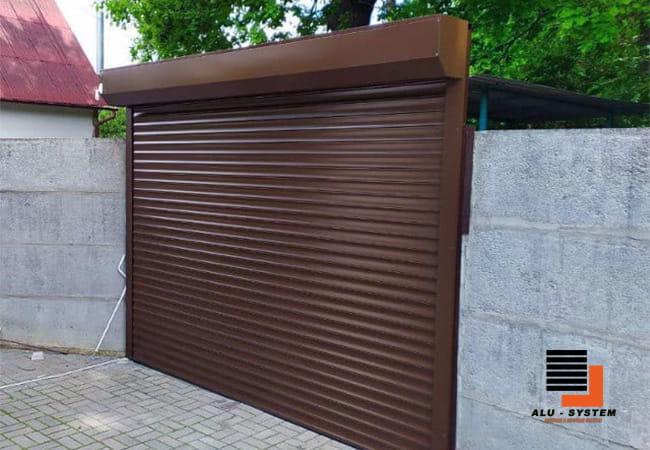 роллеты для гаража из профиля 55 мм пенозаполненный в городе Сумы фото