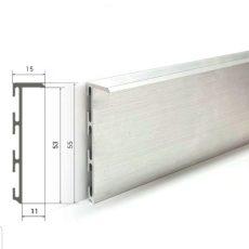 Плинтус скрытого монтажа 55 мм