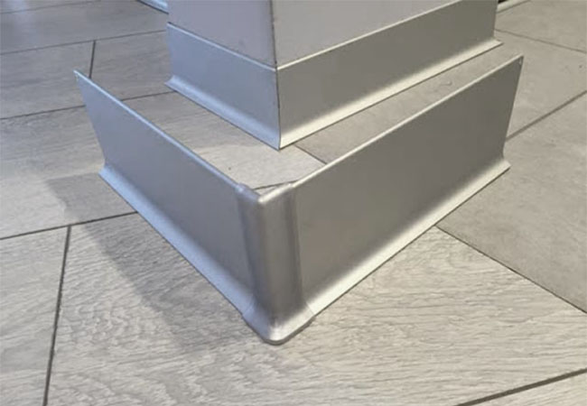 алюминиевый плинтус под покраску