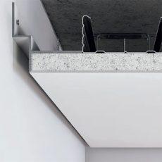 Профиль теневого шва 10 мм, без покрытия