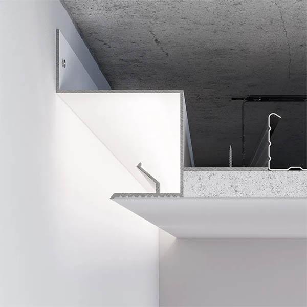 Профиль теневого шва для натяжных потолков фото